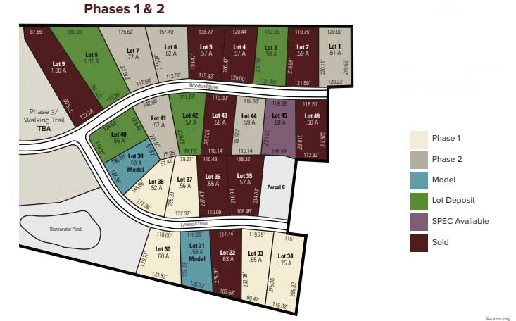 woodland trace mars pa plot plan